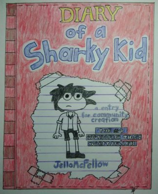 Diary of a Wimpy Shark by JelloMcFellow