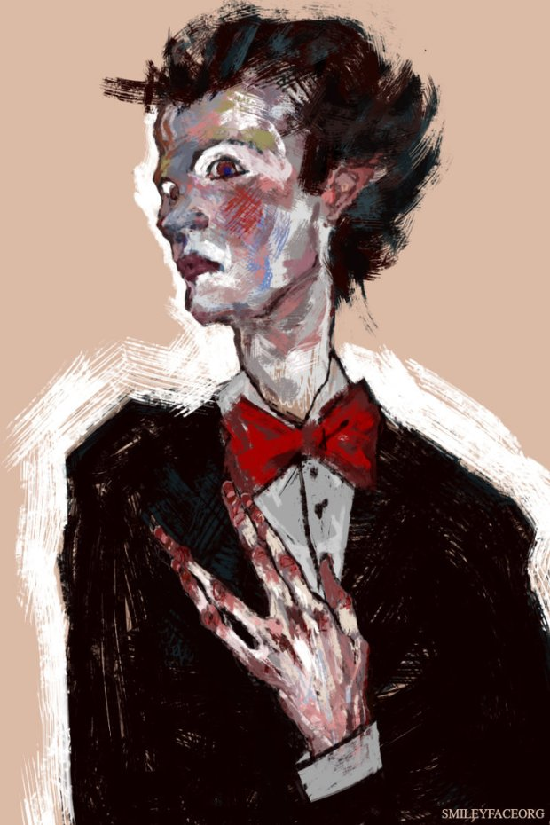 SmileyFaceOrg - Count Bram Portrait With Hands
