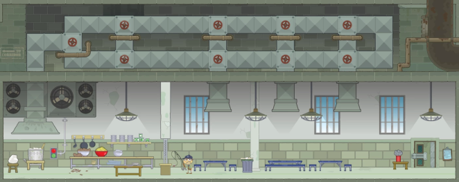 Prison Kitchen/Mess Halls
