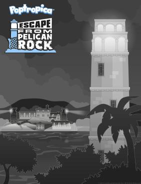 Escape From Pelican Rock promo poster