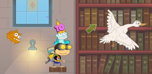 Poptropica Mr Lemoncello's library (2)