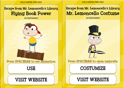 Poptropica Mr Lemoncello's library (5)
