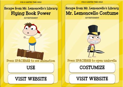 Poptropica Mr Lemoncello's library (5)