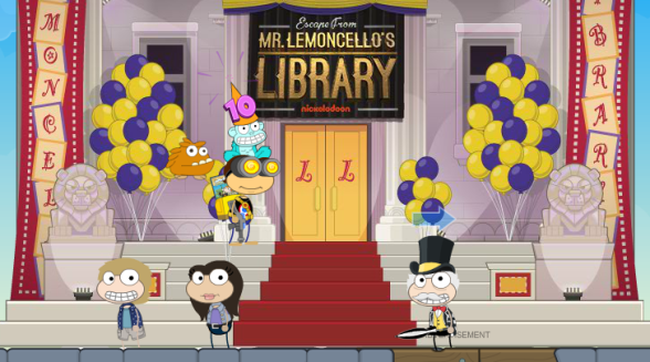 Poptropica Mr Lemoncello's library.png