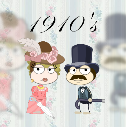 100 Years of Fashion 1910s