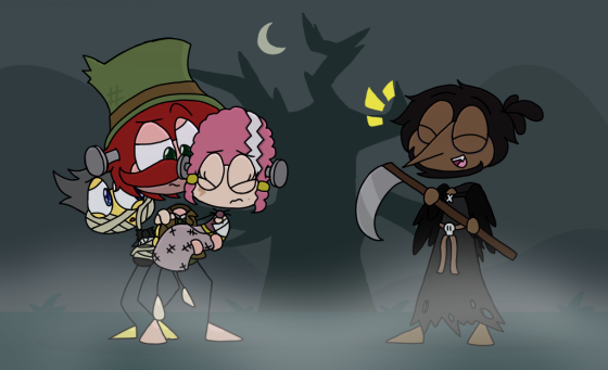 A Poptropican Halloween Special by ArtisticAsianBunny