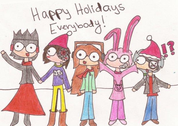 CrazyPaintbrush - Happy Holidays