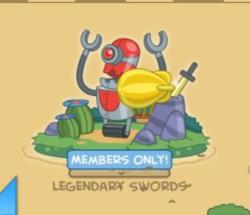 members legendary swords map