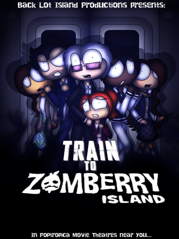 how to move the train in zomberry island