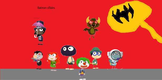 Batman Villains by Derrick aka Spotted Eagle
