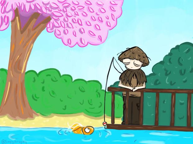 AllysArt - Early Saturday Fishing