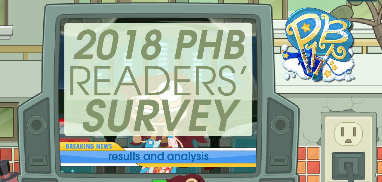 phb survey 2018 analysis
