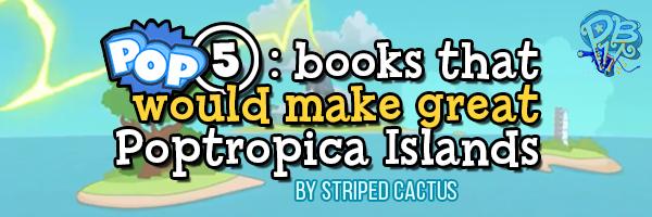 pop5 books as islands