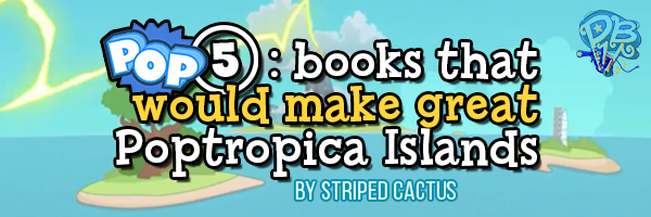 pop5 books as islands