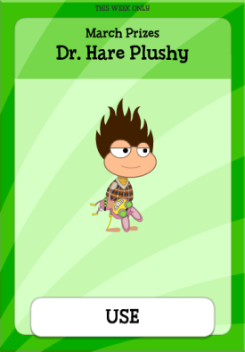 Dr. Hare Plushy 2