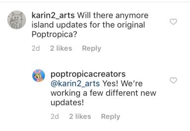 Pop Update