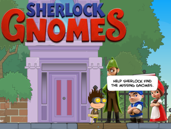 Sherlock Gnomes 3