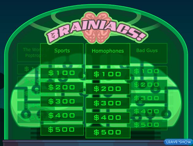 Game Show Screencap
