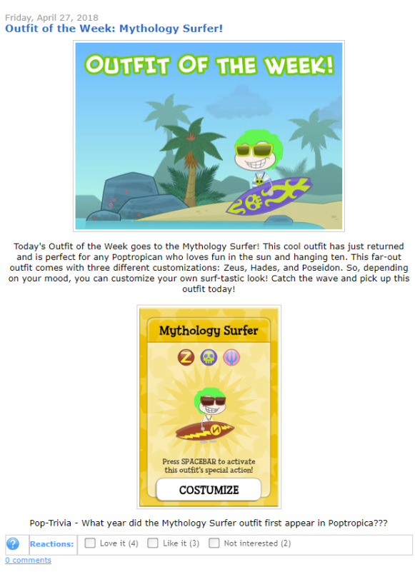 Outfit of the Week - Mythology Surfer