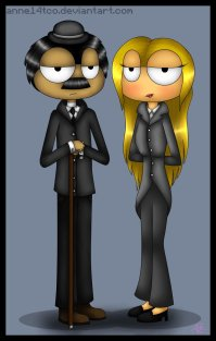 """""""The Mayor and his Wife of Poptropica City"""""""
