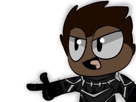 Fierce Black Panther by Fierce Flyer