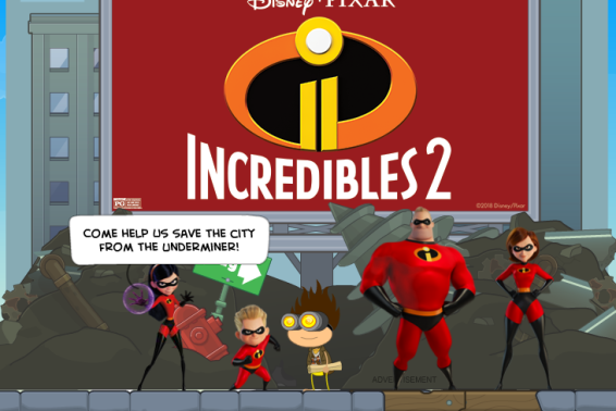 Poptropica Incredibles 1