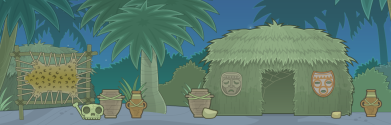 Kaya Forests in Poptropica