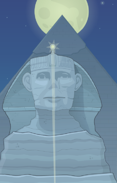 The Great Sphinx of Giza in Poptropica