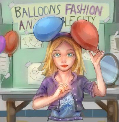 """""""Balloon experiment Girl"""""""
