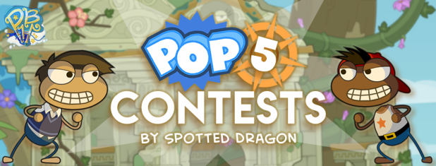 Pop 5 Contests Header