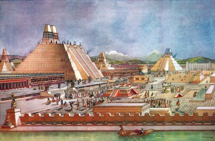 illustration: The Aztec Capital (uncyclopedia.wikia.com)