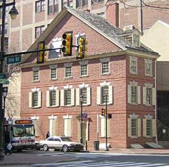 photo: Declaration House (ushistory.org)