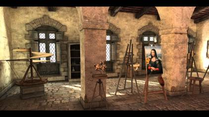 model: Leonardo da Vinci's Workshop (Krisztian Palmai on youtube)