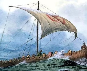 illustration: Viking Ship (snopes.com)
