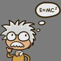 """E = mc^2"" by phs_animations"