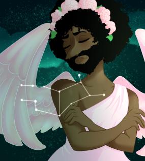 Virgo Raven (Pop Astrology Part 6) by Criaha