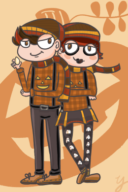 Jack & Jill O'Lantern
