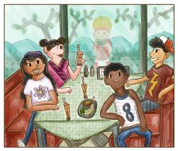 24 Carrot Diner: The Gang's All Back
