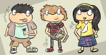Jorge, Oliver, Mya