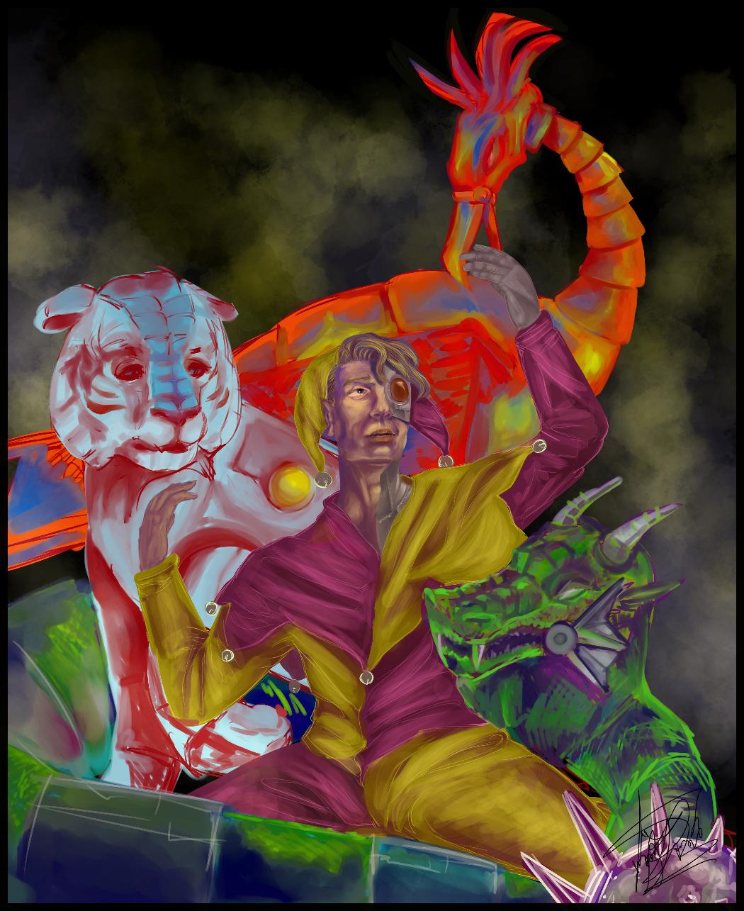 pinklasgne - His Universe