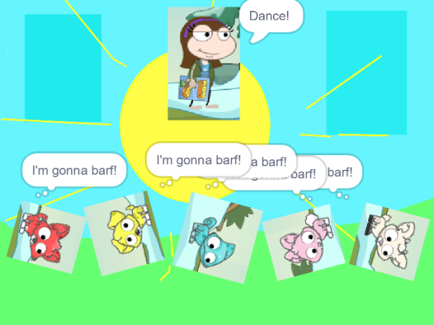 Poptropica Girl - Pets Dance Party