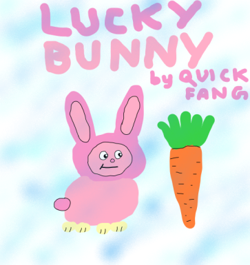 Lucky Bunny by Quick Fang