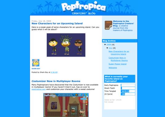 Pop Blog 2008